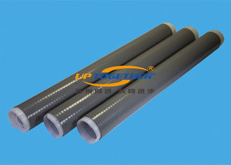 Durable Silicone Shrink Tubing , Oil Refinery Use Black Shrink Tube